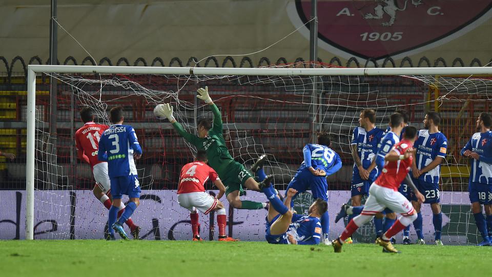 Perugia-Padova 3-2 - Falasco segna il gol del 2-1 ©