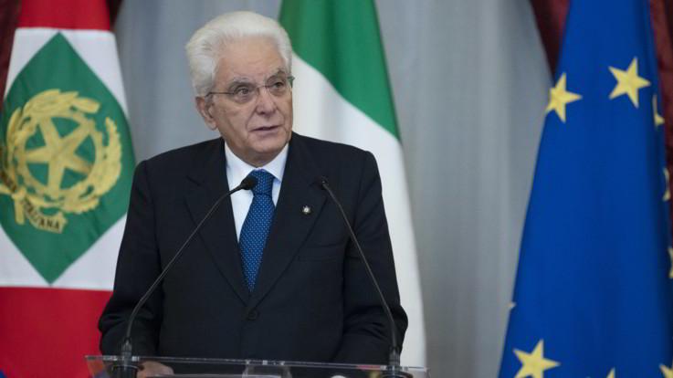 """Mattarella: """"Conti in equilibrio essenziali per la sovranità del Paese"""""""