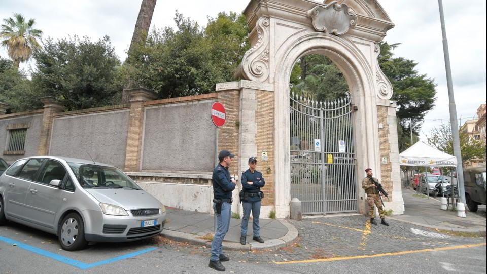 La sede della Nunziatura apostolica a Roma ©