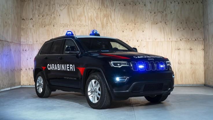 Jeep, arriva il Grand Cherokee per i carabinieri