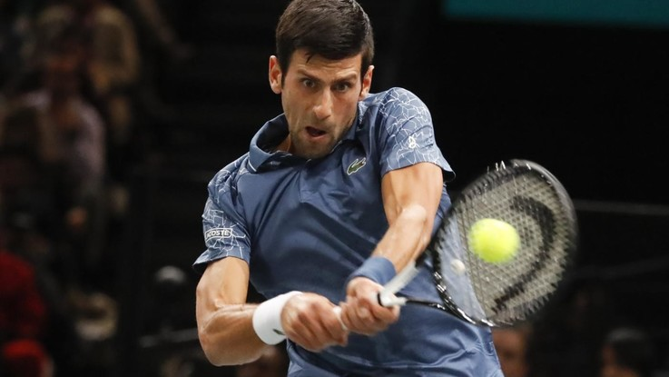 Tennis, Atp Parigi Bercy: forfait Nadal, Djokovic torna numero 1