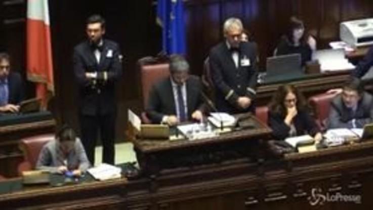 Dl Genova, la votazione finale alla Camera