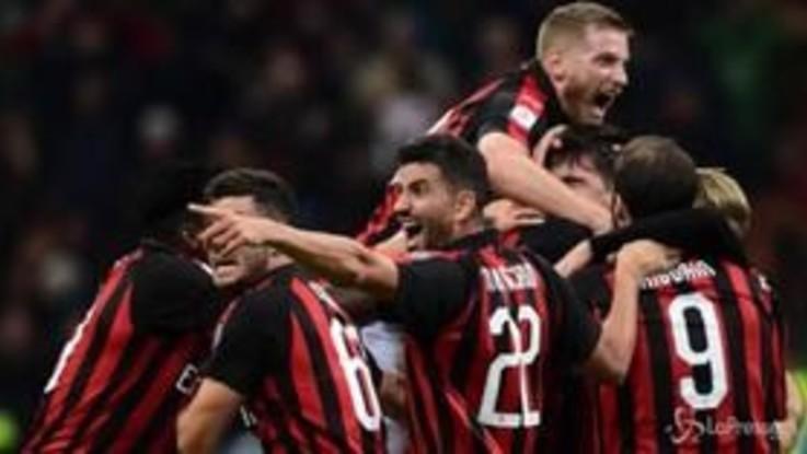Serie A: Milan beffa il Genoa al 91esimo