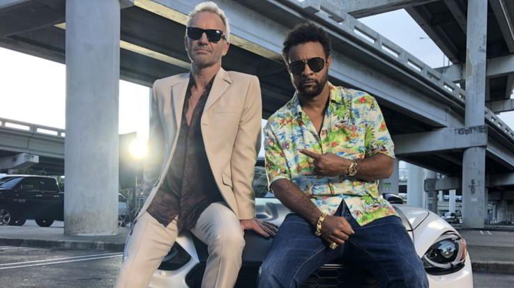 """La strana coppia Sting & Shaggy: """"Siamo un messaggio politico vivente di unità"""""""