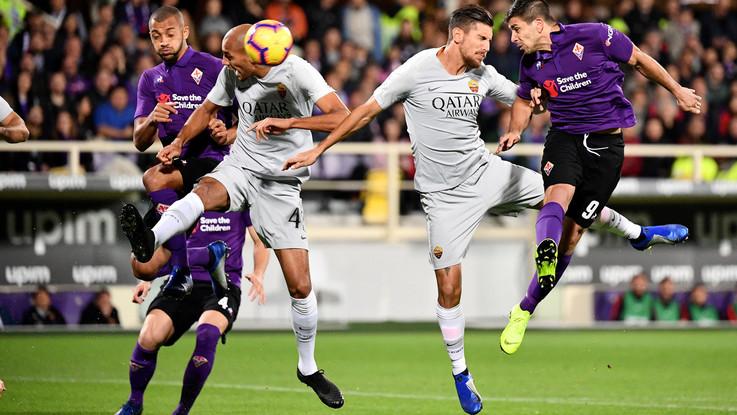 Serie A, Fiorentina-Roma 1-1   Il Fotoracconto