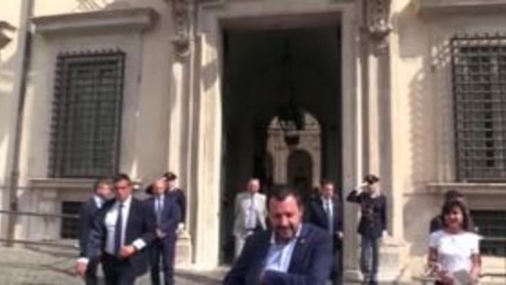 """Governo in crisi? Salvini smentisce: """"Nessuna polemica con M5S"""""""