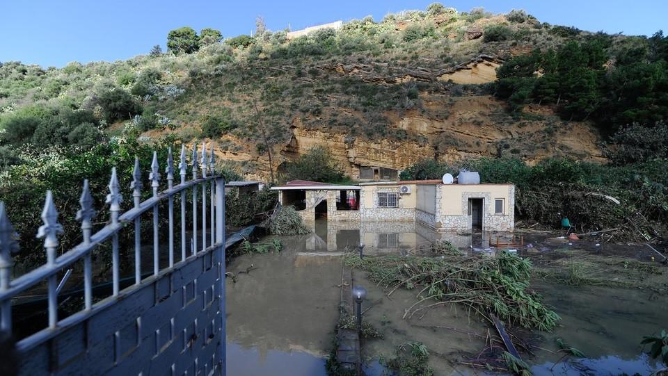 La casa delle 9 vittime dell'alluvione ©
