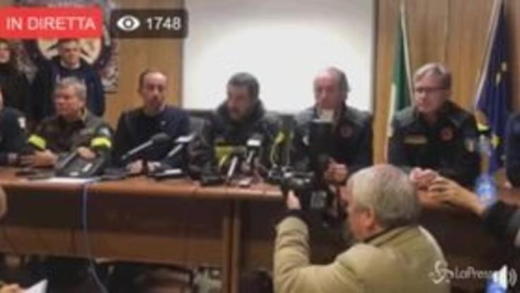 """Maltempo, Salvini: """"Subito 250 milioni, la letterina di Bruxelles va in archivio"""""""