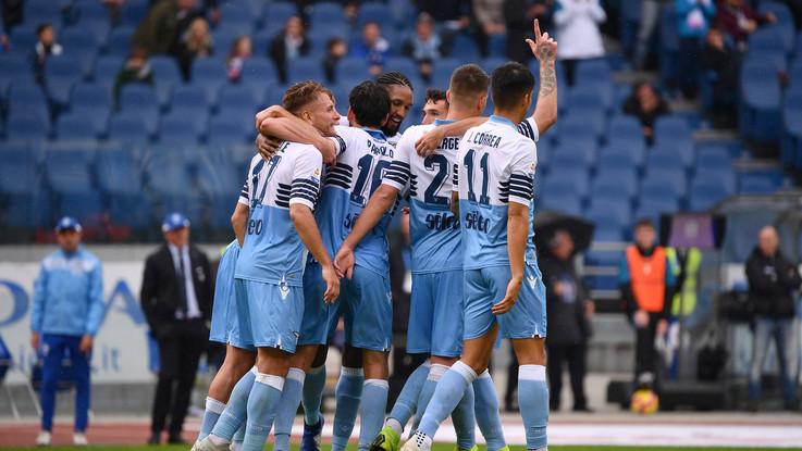Serie A, Lazio si rialza: doppietta Immobile, Spal travolta 4-1
