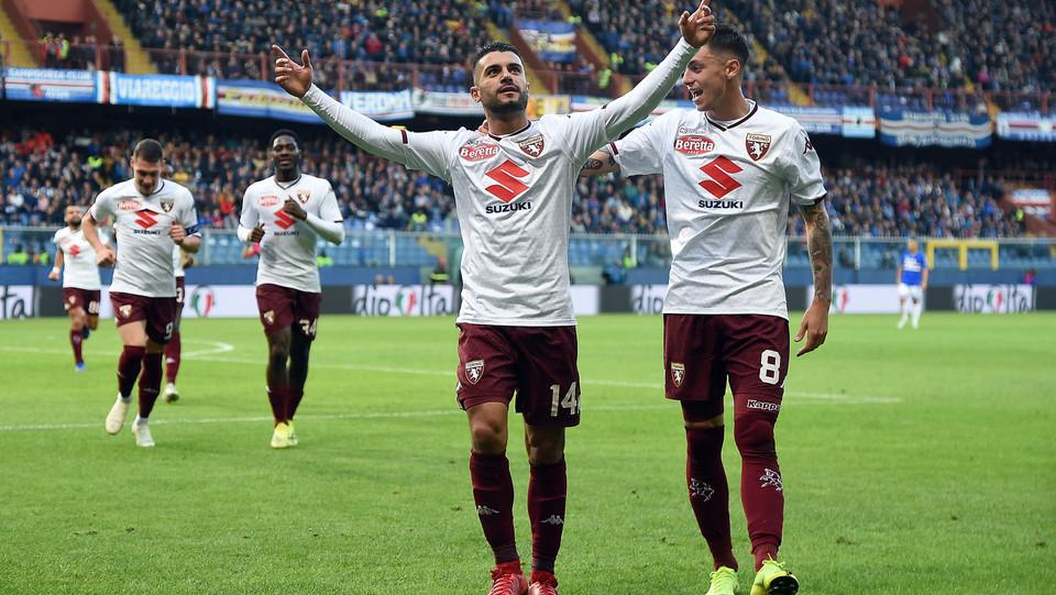 La gioia dopo il terzo gol del Torino ©