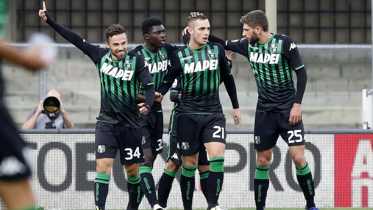 Serie A, il Sassuolo ritrova il successo: Chievo ko e sempre più giù