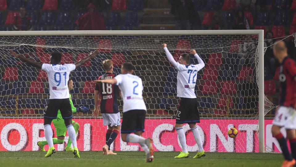 Mancini esulta dopo aver segnato ©