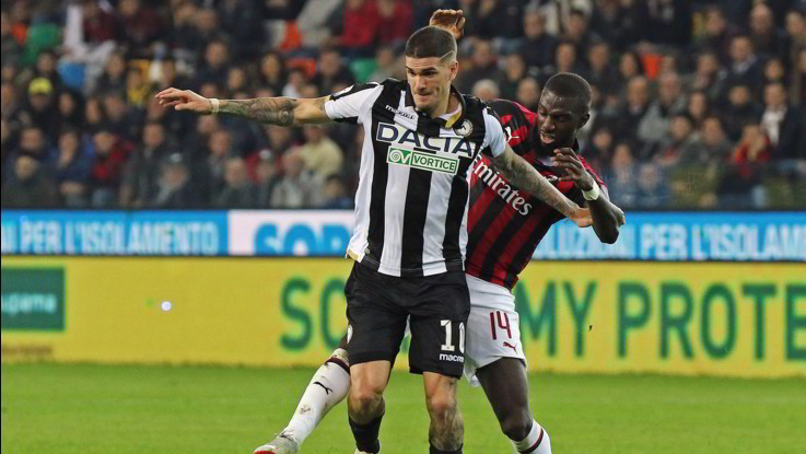 Serie A, Udinese-Milan 0-1 | Il Fotoracconto