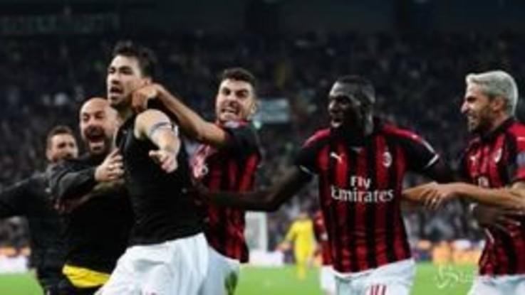 Colpaccio Milan a Udine, il Diavolo è quarto