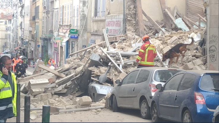 Marsiglia, crollati due palazzi: almeno due feriti