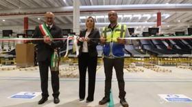 Amazon inaugura mega centro di smistamento nel bergamasco