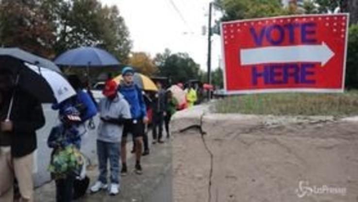 Voto Midterm, seggi aperti negli Usa