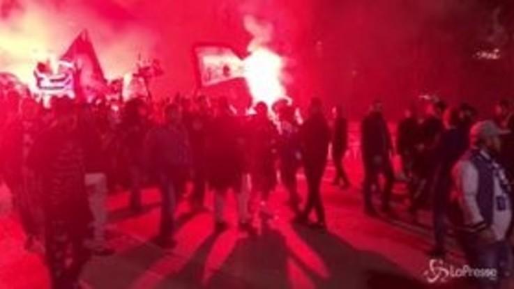 Champions League, i tifosi del Psg arrivano al San Paolo di Napoli