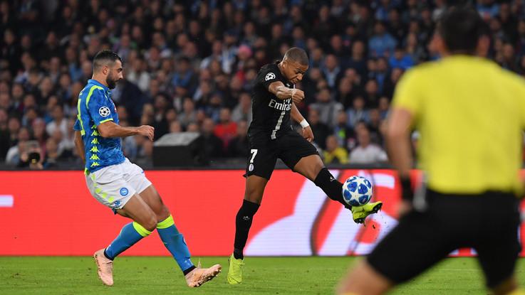 Champions League, Napoli-Psg 1-1 | Il Fotoracconto