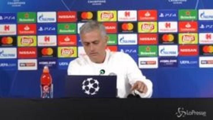 """Champions, Mourinho: """"I tifosi della Juve all'andata non si sono comportati bene"""""""