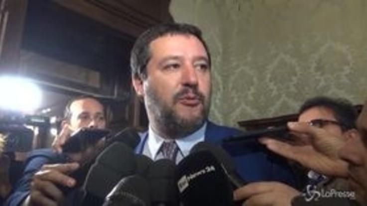 """Prescrizione, Salvini: """"Rivedere tutto, non un pezzettino"""""""