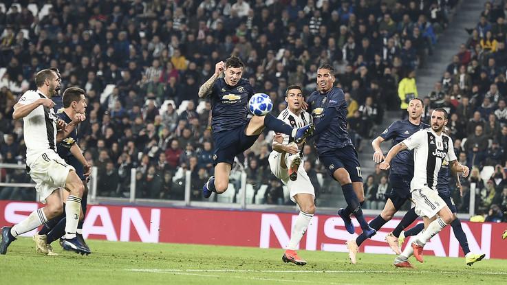 Champions League: ultimi 10 minuti da incubo per la Juve, il Manchester passa nel finale allo Stadium