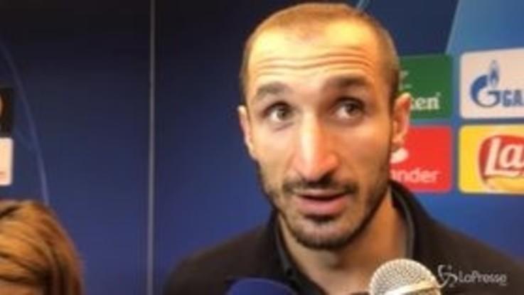 """Champions, Chiellini: """"Un ko salutare per ripartire"""""""
