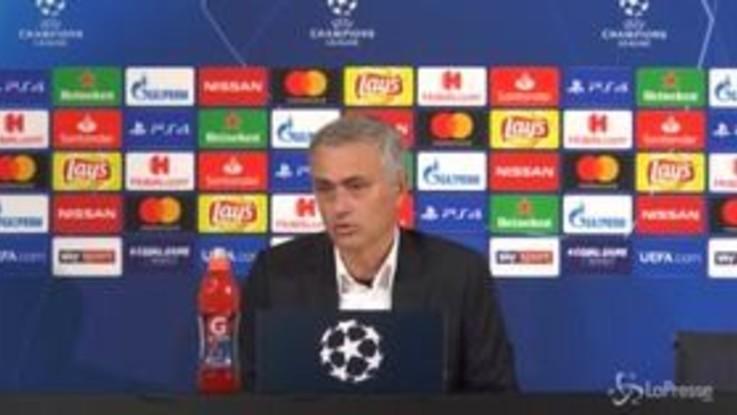 """Champions, Mourinho: """"Non ho offeso i tifosi della Juve"""""""
