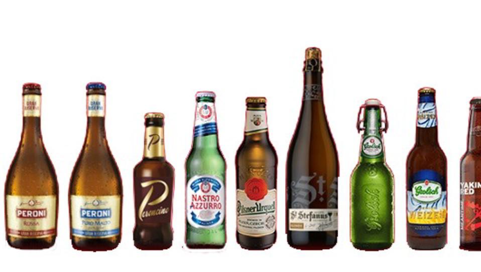 Marchio storico è anche la Peroni, che produce birra dal 1846 negli stabilimenti di Roma, Padova (Veneto) e Bari (Puglia), mentre il malto proviene dalla