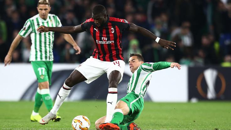 Europa League, Betis Siviglia-Milan 1-2 | Il Fotoracconto