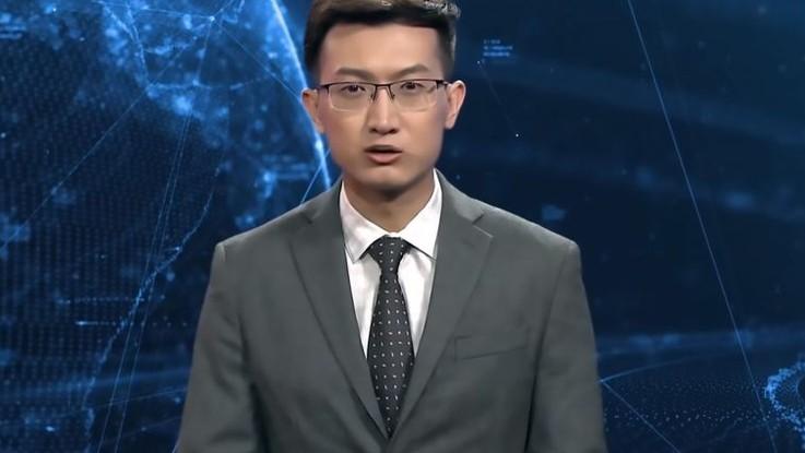 Cina, addio ai giornalisti: ecco il conduttore digitale che cambierà la tv