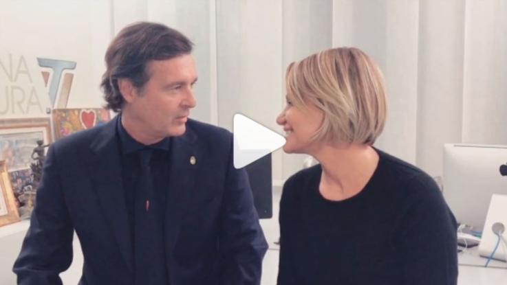 """Simona Ventura e Gerò Carraro si dicono addio: """"Finisce una grande storia d'amore"""""""