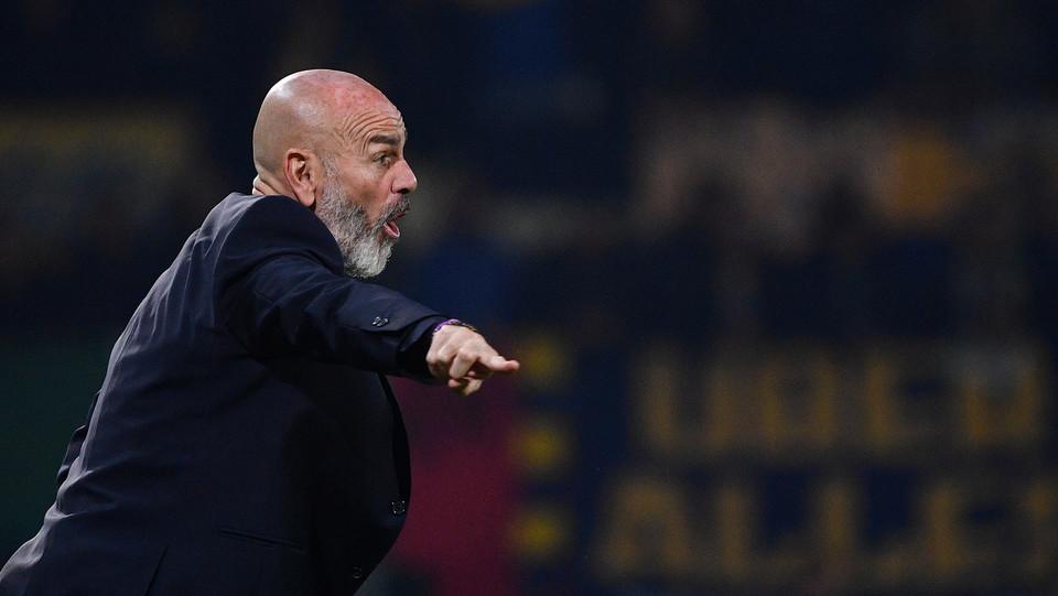 Pioli, allenatore della Fiorentina ©