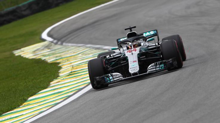 Gp Brasile, pole Hamilton, Vettel multato resta secondo. Raikkonen quarto
