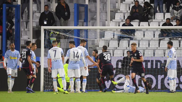 Serie A, Spal pareggio amaro: Cagliari rimonta da 2-0 a 2-2 in 3'