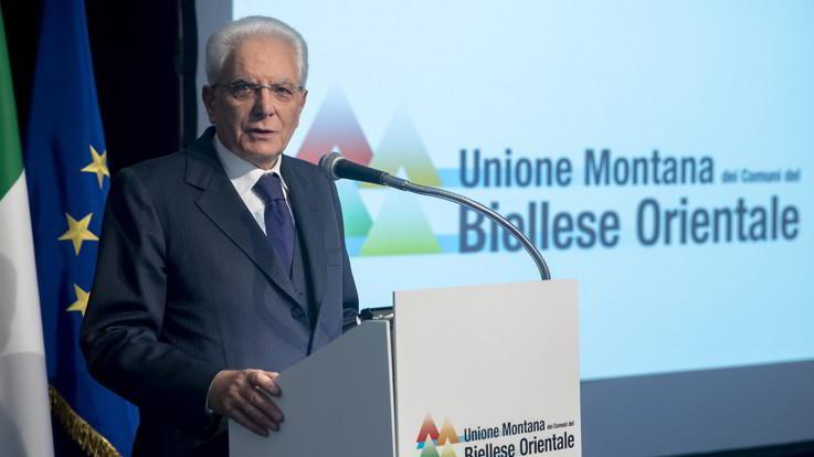 """Maltempo, Mattarella: """"Lo Stato c'è e ci sarà, non lesinare risorse"""""""