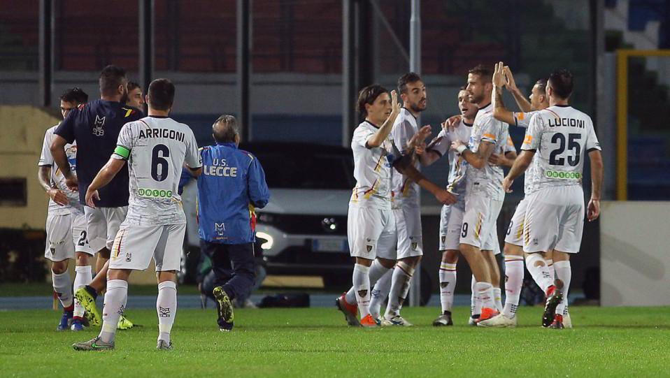 Cosenza-Lecce 2-3 - Tutti pazzi per Palombi ©
