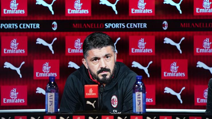 """Milan, Gattuso sfida la Juve: """"Incerottati ma daremo battaglia"""""""