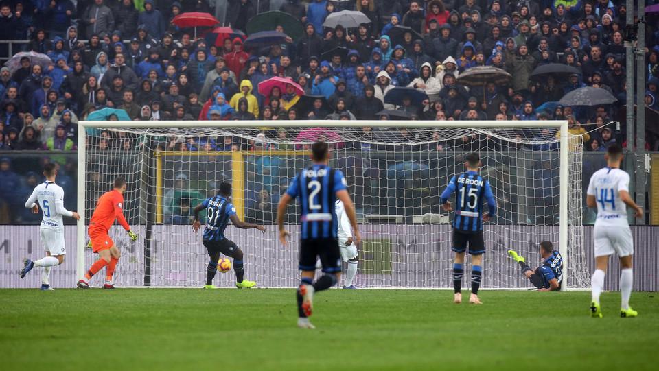 Gol di Hateboer: 1-0 per l'Atalanta ©