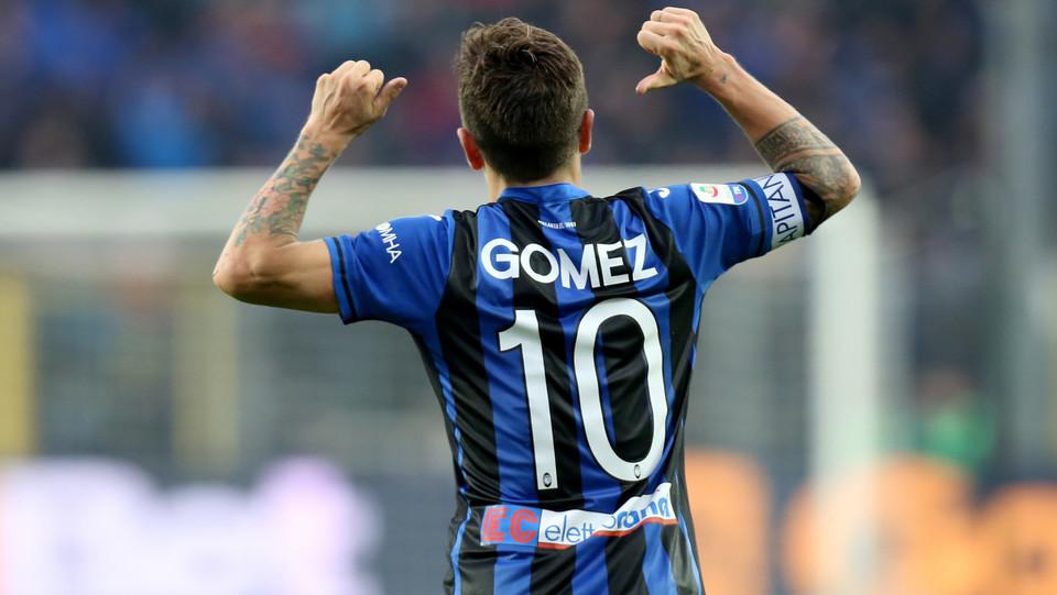 L'esultanza di Gomez ©