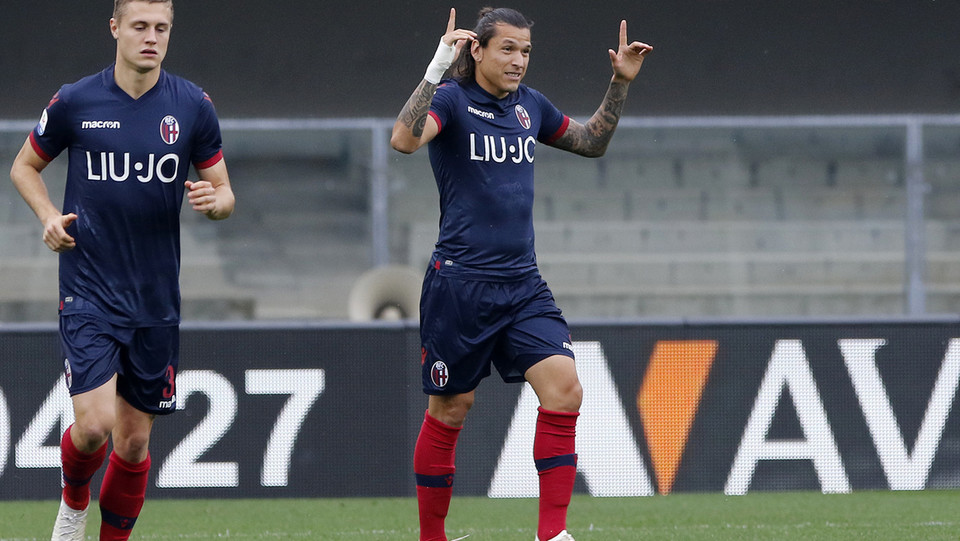 Santander esulta dopo lo 0-1 ©
