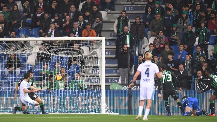 Serie A, Sassuolo-Lazio 1-1 | Il Fotoracconto