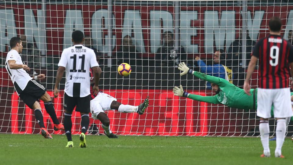 Ronaldo fa 2-0 all'81' ©