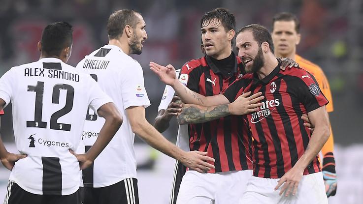 Serie A, le pagelle di Milan-Juve: Ronaldo top, Higuain flop