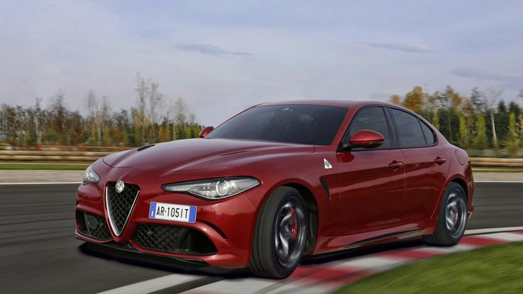 Alfa Romeo Giulia premiata in Germania