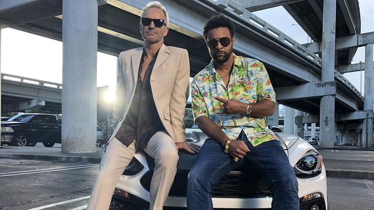 Fca, Abarth 124 spider protagonista con Sting e Shaggy dell'ultimo videoclip