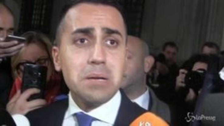 """Tav, Di Maio: """"Ascolteremo tutti ma conoscete la posizione del M5s"""""""