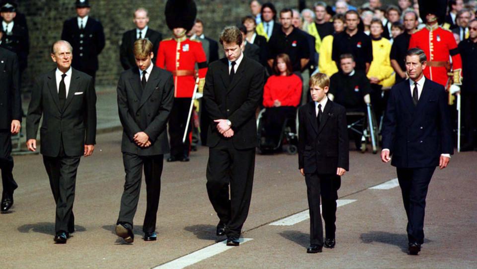 I funerali della principessa Diana ©