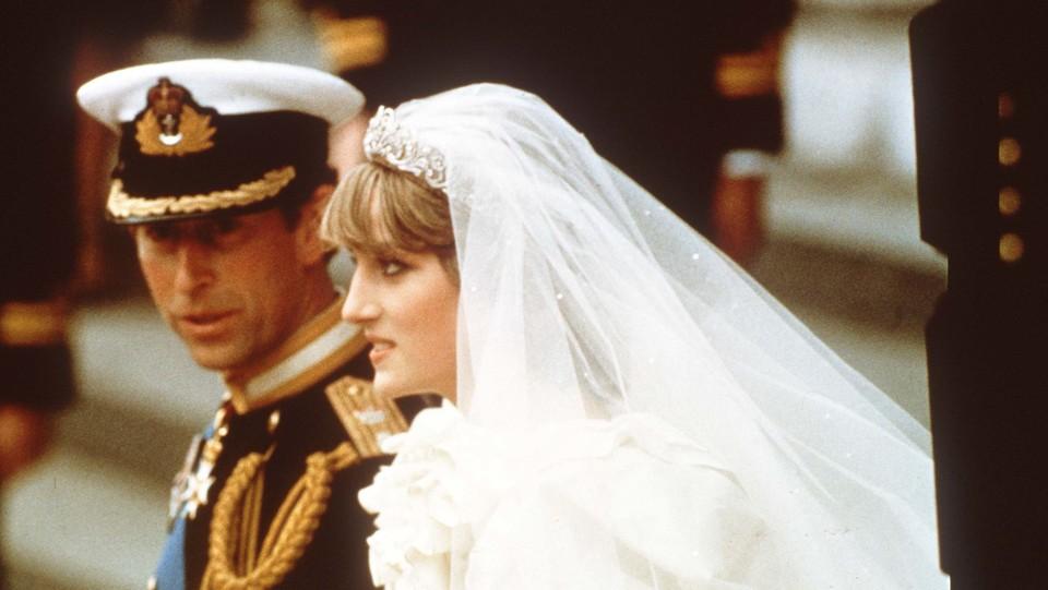 Carlo e Diana il giorno del oro matrimonio ©