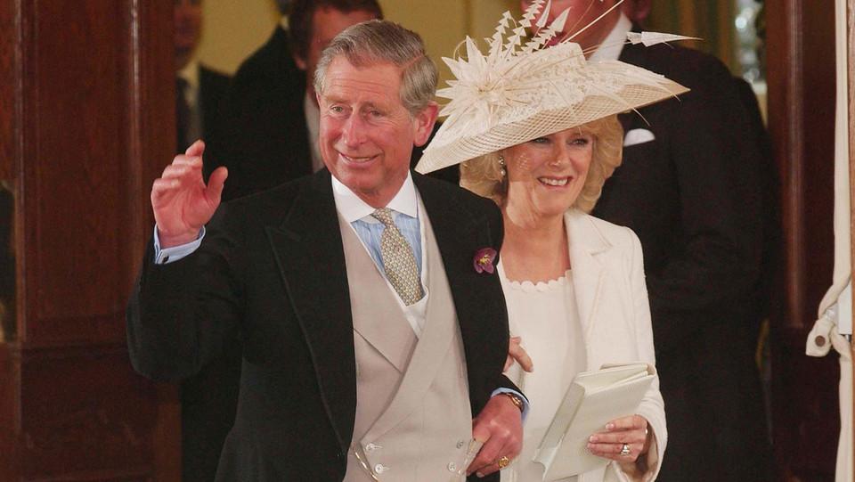 Carlo e Camilla il giorno delle nozze ©